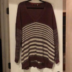 UO - BDG - Oversized Stripe Sweater - Size L
